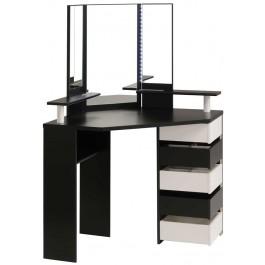 Parisot black white beauty bar dressing table kids avenue for Beauty parlour dressing table