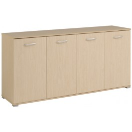 Parisot Element 4 Door Sideboard - St Laurent Beech