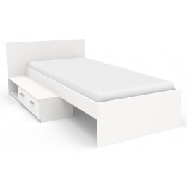 Parisot Galaxy Single Bed - White