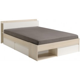 Parisot Most European Double Bed - Acacia