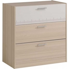 Parisot Charly kids chest of 3 drawers