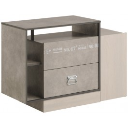Parisot Hipster Drawer and Shelf Unit