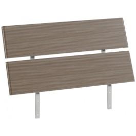 Parisot Easy 3 UK Single Bed Headboard - Silver Walnut - SPECIAL OFFER