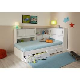 Parisot Snoop Bedroom Set - White