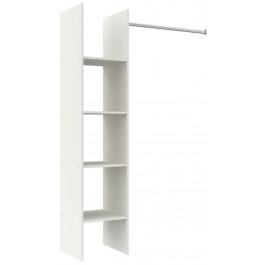Parisot Primo Small Open Wardrobe - White