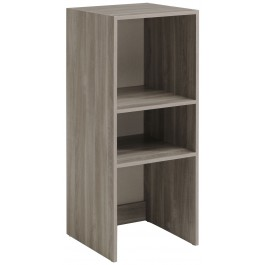 Parisot Easy Dress Narrow Shelf Unit Flint Oak