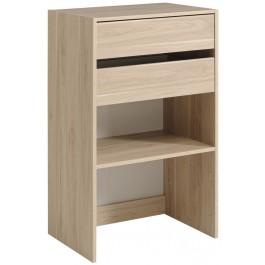 Parisot Easy Dress Wide Shelf & Drawer Unit Dakota Oak
