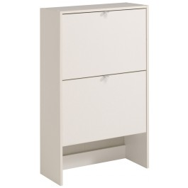 Parisot Easy Dress Shoe Cabinet - White