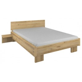 Parisot Tennessee Double Bed With Bedside Shelves