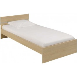 Parisot Infinity single bed in baltic oak