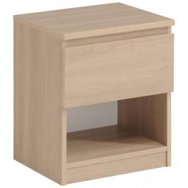 Parisot Neo Bedside Table - Brooklyn Oak