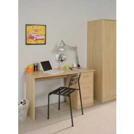 Parisot Computer Desk With 3 Drawers