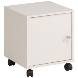 Parisot Kubikub Cube On Castors - White