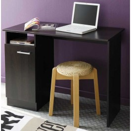 The Parisot Infinity computer desk in Oak effect features a drawer and a cupboard with silver handles. Perfect for organising your child's room for the start of term.  <ul style='list-style-type: disc; margin-left: 15px;'><li>Product Code: 6760BU1P</li><l