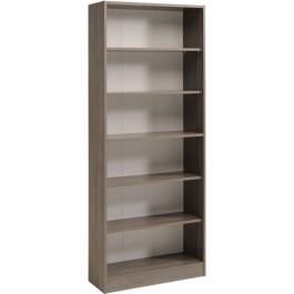 Parisot Sophia wide 5 shelf unit in Silver Walnut
