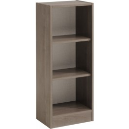 Parisot Sophia narrow 2 shelf unit in Silver Walnut