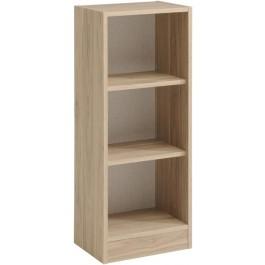 Parisot Sophia narrow 2 shelf unit in Dakota Oak