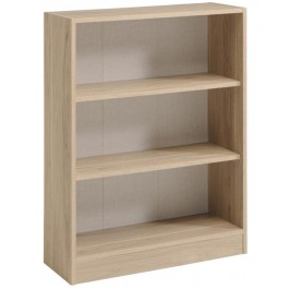 Parisot Sophia wide 2 shelf unit in Dakota Oak