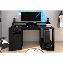 Black Parisot Gaming SetUp Desk