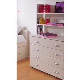 Stompa Chest Of Drawers - White