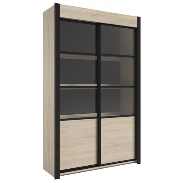 Parisot Maxwell Display Cabinet - Jackson Oak
