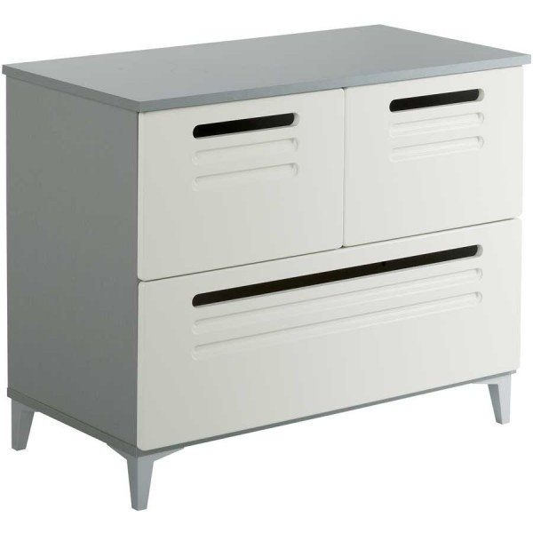 Parisot Factory chest of 3 drawers