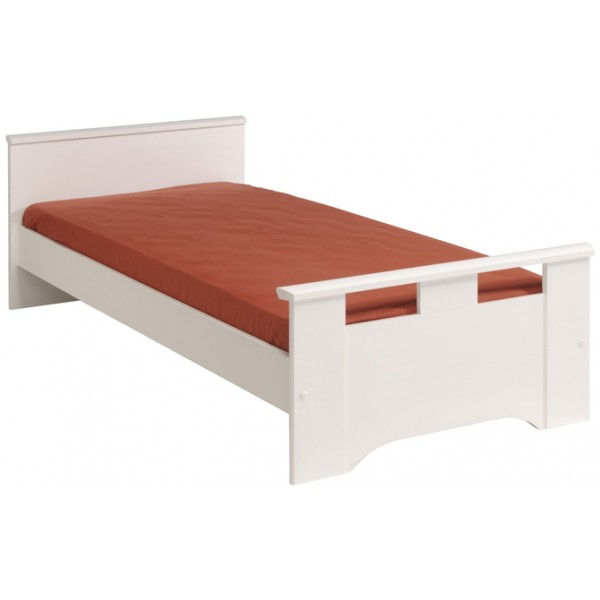 Parisot Swan White Single Bed