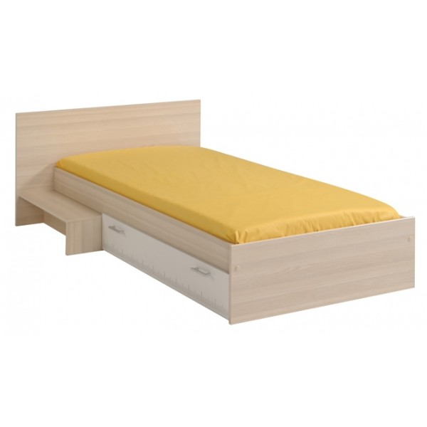 Parisot Charly Single Bed With Drawer