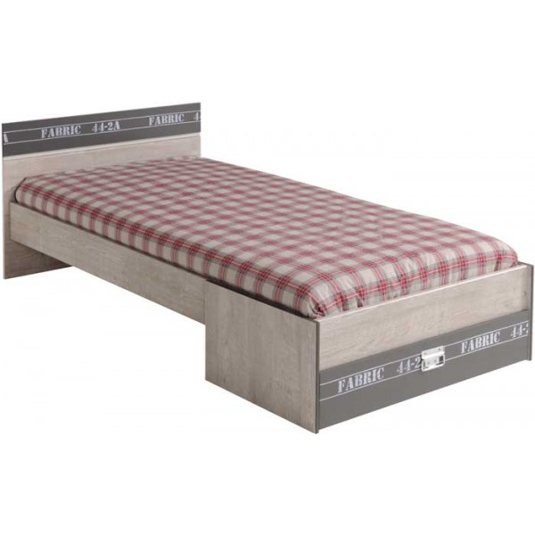 Parisot Fabric Single Bed
