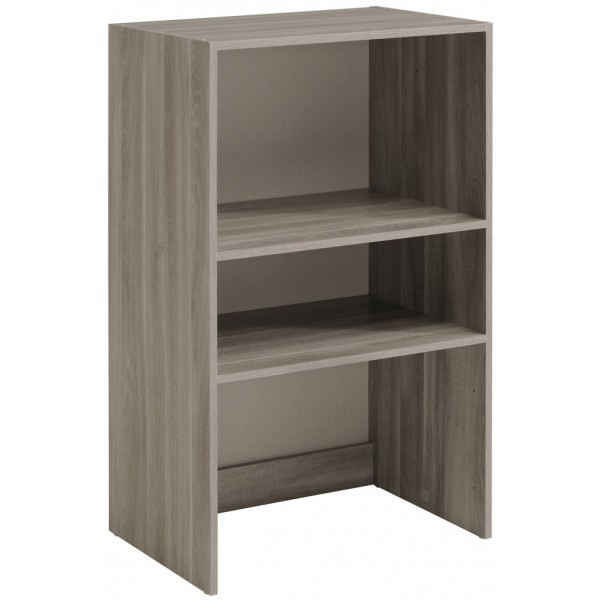 Parisot Easy Dress Wide Shelf Unit Flint Oak