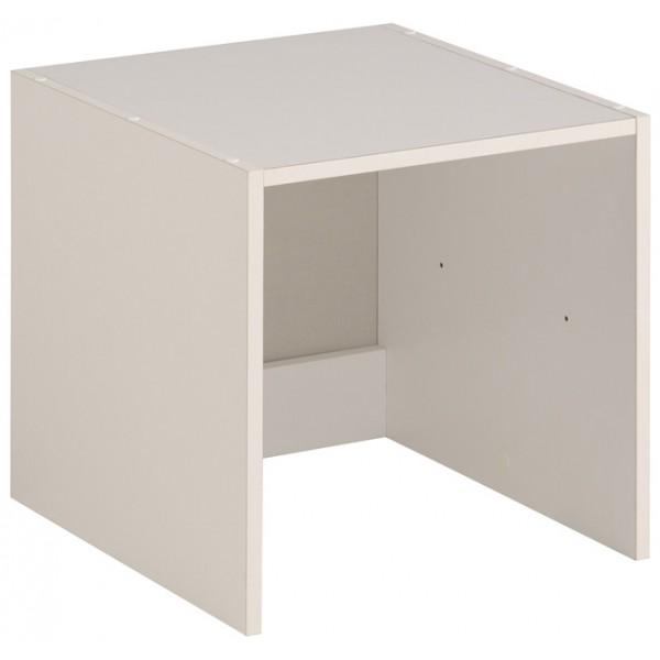 Parisot Easy Dress Small Narrow Shelf Unit - White
