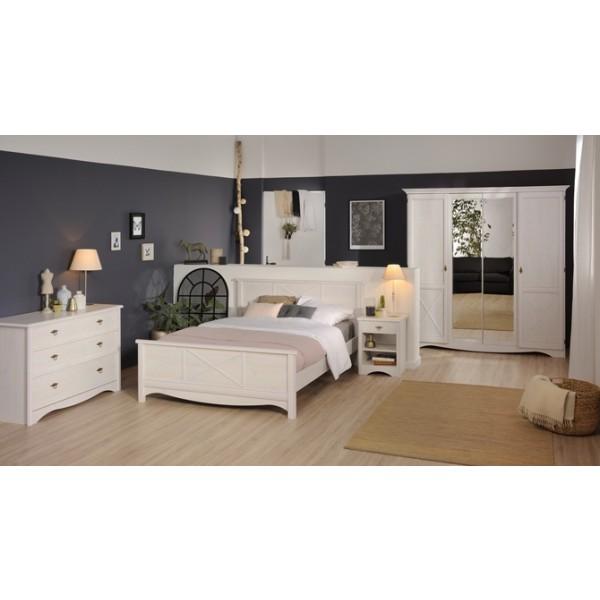 parisot marion bedside table. Black Bedroom Furniture Sets. Home Design Ideas