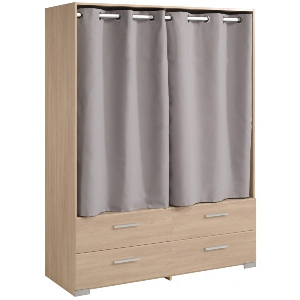 Parisot Ekko Curtained Wardrobe