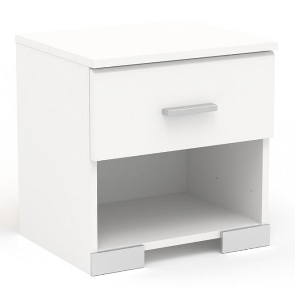 Parisot Galaxy Bedside Table - White