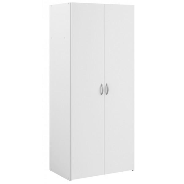Parisot Daily 2 Door Wardrobe - White