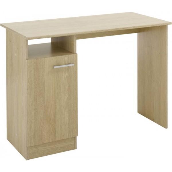 Parisot Infinity computer desk in baltic oak