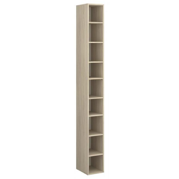 Parisot Step Tall Shelf Unit - Dakota Oak