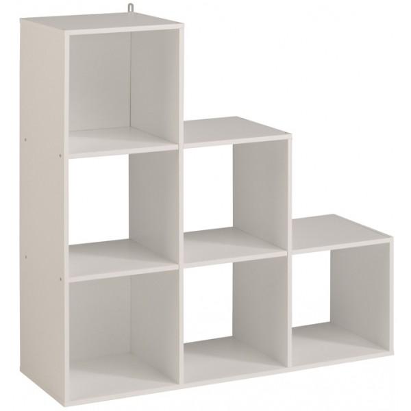 Parisot Kubikub 6 Cube Tier - White