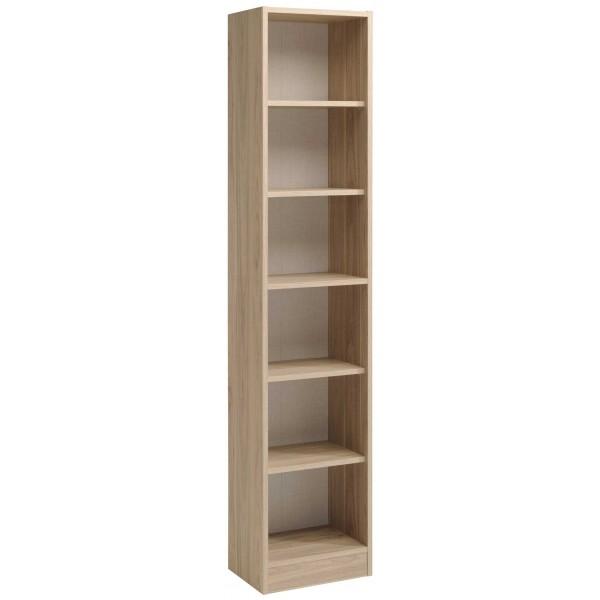 Parisot Sophia Tall Narrow Bookcase - Dakota Oak