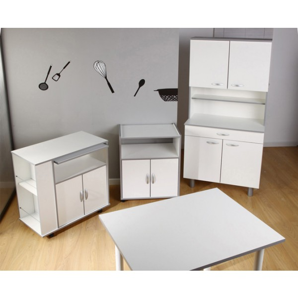 Simple Kitchen Unit: White Kitchen Unit