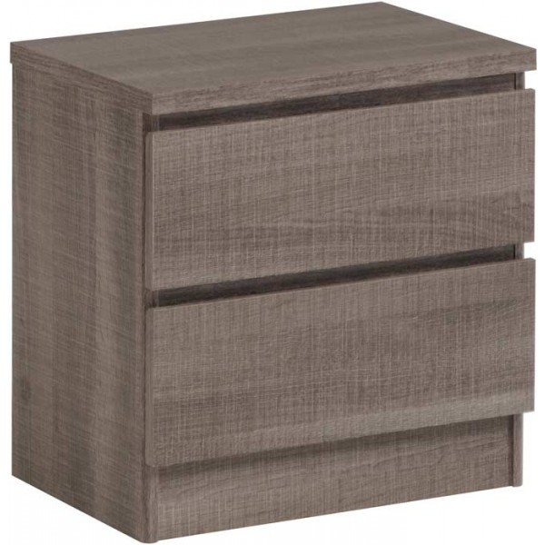 Parisot Home liquorice chest of 2 drawers