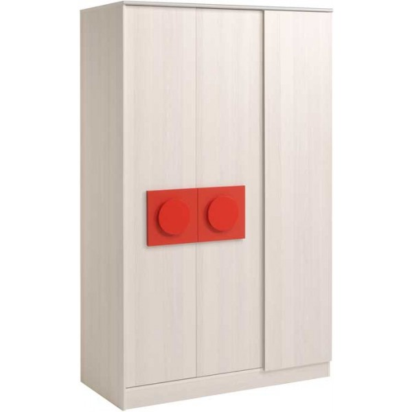 Parisot Brick 3 door wardrobe