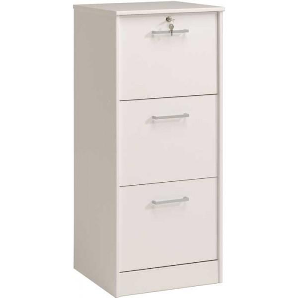 Parisot Ludik filing cabinet in white