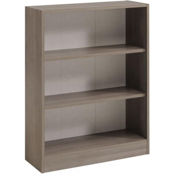 Parisot Sophia wide 2 shelf unit in Silver Walnut