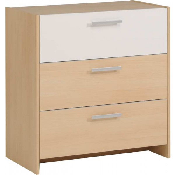 Parisot Snoop kids chest of 3 drawers