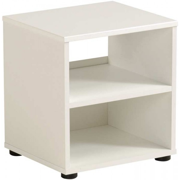 Parisot Brooklyn white bedside table