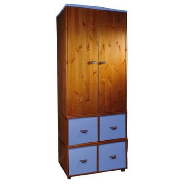 Stompa Wardrobe 4 Cube - Antique