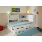 Parisot Snoop Bedroom Set - White