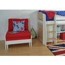 Kids Avenue Urban Foam Set For Chair Bed