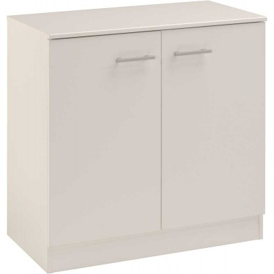 Parisot Infinity Small Cupboard - White - STOCKED IN UK
